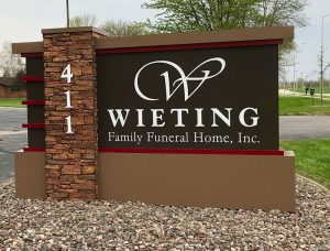 Wieting Family Funeral Home in Chilton Wisconsin