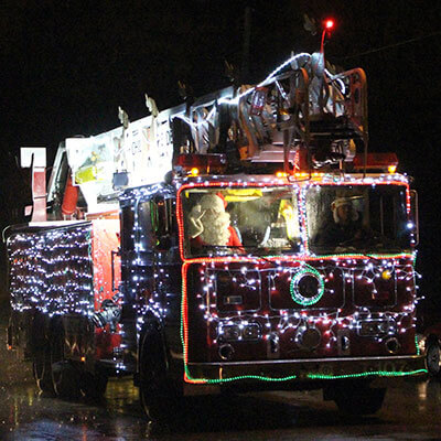 chilton-christmas-parade-fire-engine