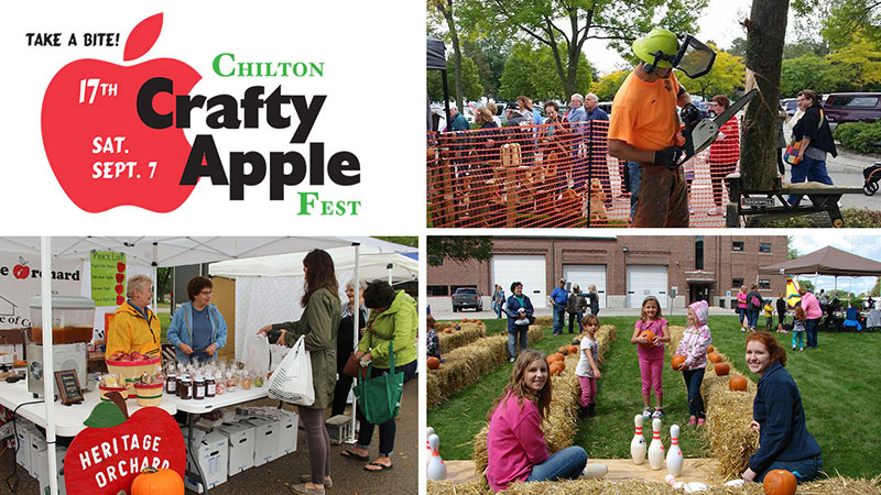 2019 Crafty Apple Festival Chilton Wisconsin