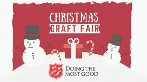 Christmas Craft Fair at Chilton High School presented by the Salvation Army