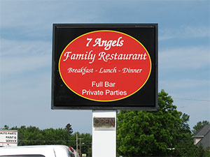 Seven Angels Family Restaurant Chilton Wisconsin