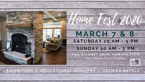 Home Fest 2020 New Holstein Wisconsin hosted by Mid-Shores Home Builder's Association
