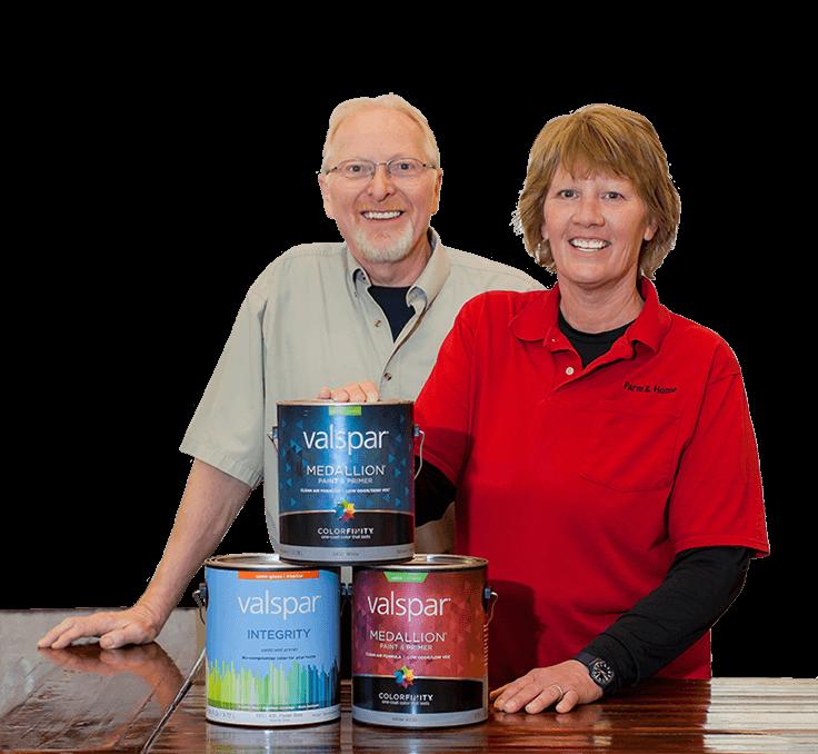 Kim & Nancy McKeen owners of Chilton Farm & Home